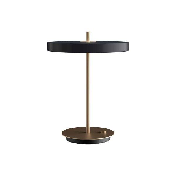 lampa stołowa asteria umage antracytowa