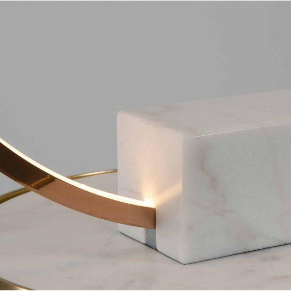lampa led marmurowa oda paller