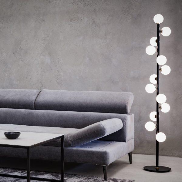 lampa podłogowa do salonu pallero