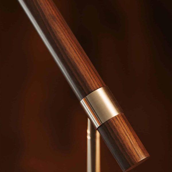 lampa drewno i metal pallero polo