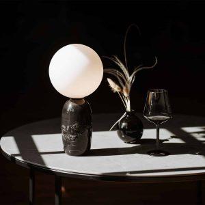 marmurowe lampy