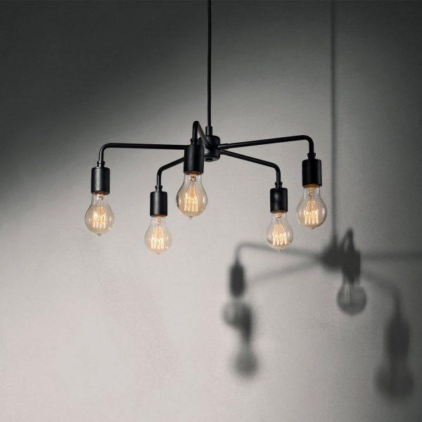 lampa wisząca menu leonard