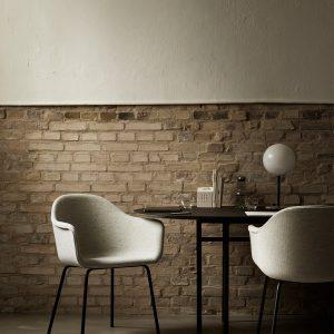 lampa stołowa tr table menu marmur błyszcząca na stole