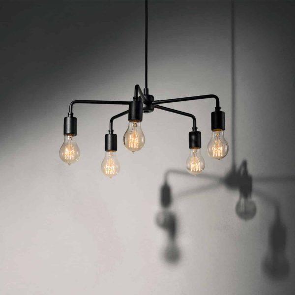 lampa wisząca menu chambers 76 czarny