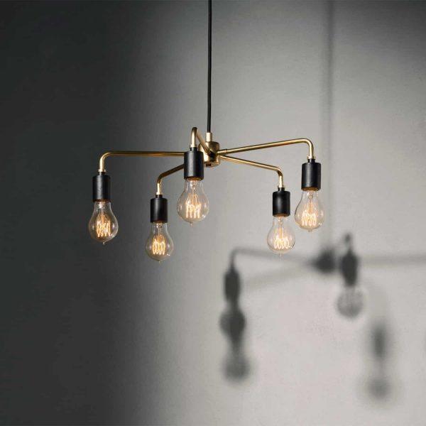 lampa wisząca menu chambers 76 złoty