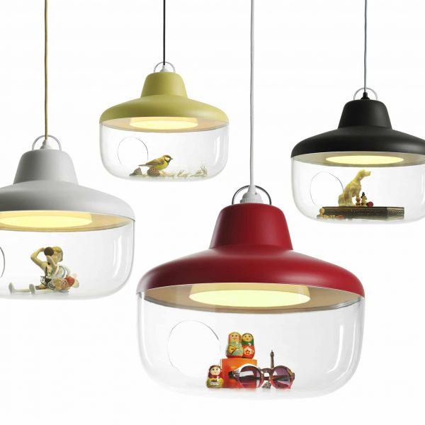 eno studio favorite things lampy wiszące 4 obok siebie