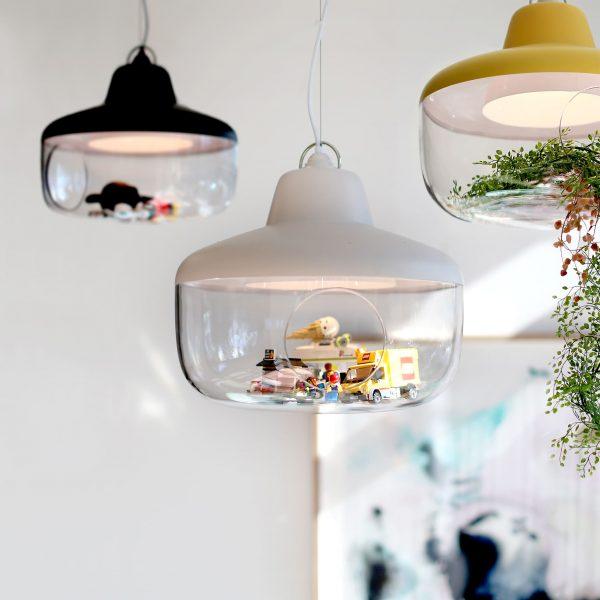lampy eno studio favorite things zawieszone obok siebie