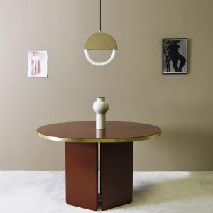 HW01EN001000 mosiężna lampa wisząca percent eno studio
