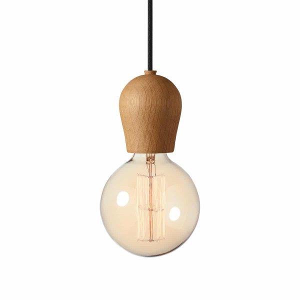 110102+310103 drewniana lampka sprout