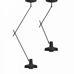 dwie lampy sufitowe arigato krótka i długa