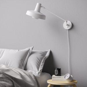AR-W-Sw lampa ścienna arigato grupa biała