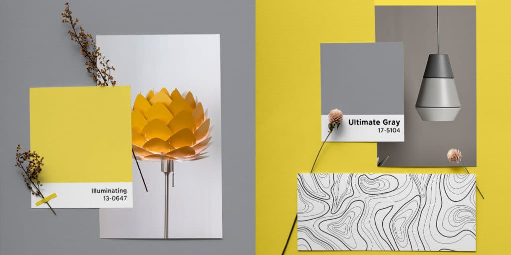 Kolor Pantone 2021 lampy