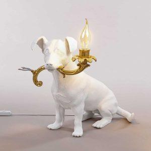 seletti lampa w kształcie psa