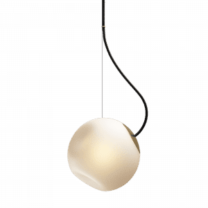 lampa wisząca barocco nordic tales z czarnym przewodem