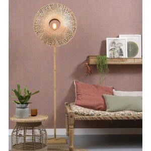 KALIMANTANFN6015BN lampa podłogowa bambusowa