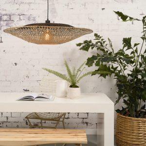 kalimantan-h20-bn duża lampa z bambusa