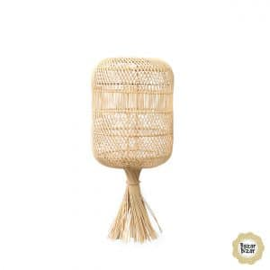 BAYU004N-S-22x50 rattanowy abażur the dumpling w kolorze naturalnym